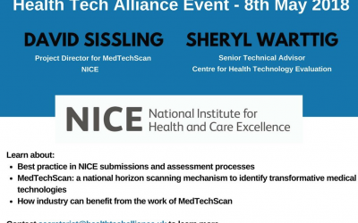 Health Tech Alliance Meeting: NICE and MedTechScan