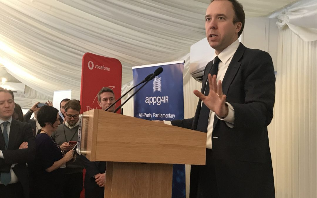 Matt Hancock champions the potential of HealthTech at APPG event
