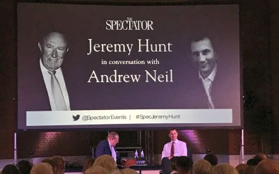 Jeremy Hunt discusses the future of NHS funding